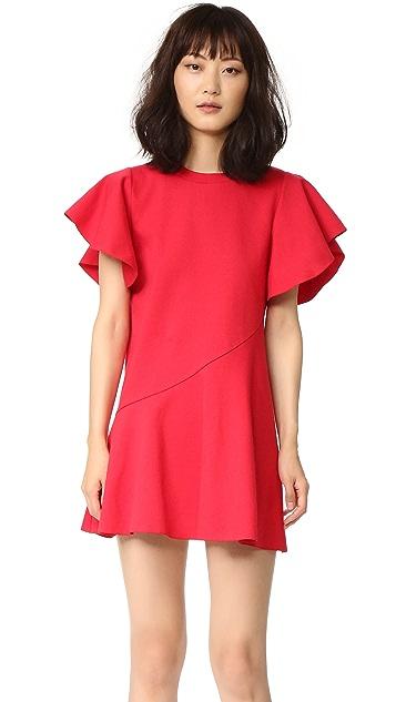 GOEN.J Ruffle Sleeve Dress