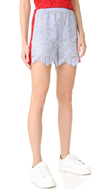 GOEN.J Lace Shorts