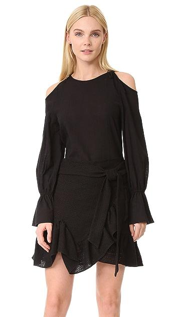 GOEN.J Cutout Shoulder Dress