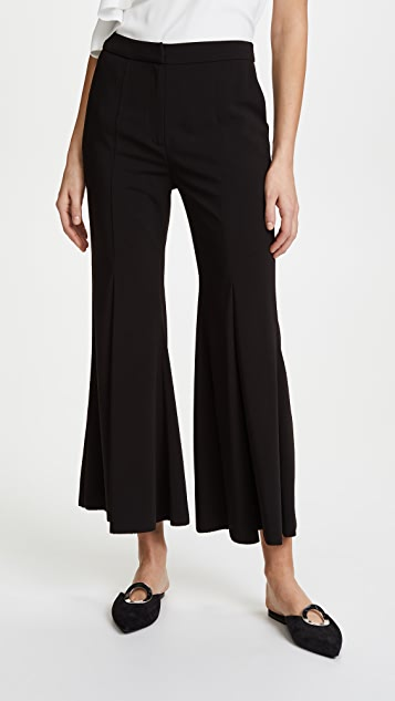 GOEN.J Pleated Flared Pants