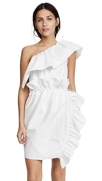 GOEN.J One Shoulder Dress