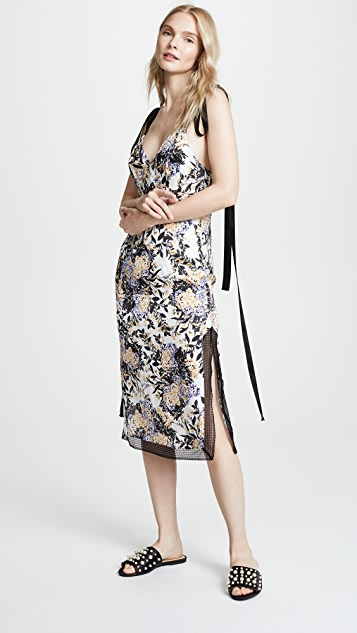 GOEN.J Floral Sleeveless Dress