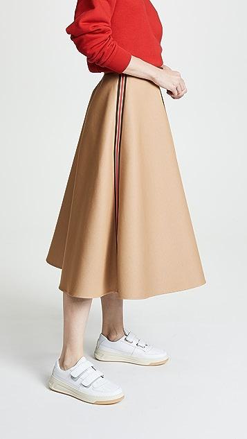 GOEN.J Flared Midi Skirt