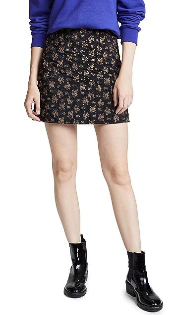 GOEN.J Quilted Miniskirt