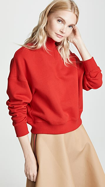 GOEN.J High Neck Sweatshirt