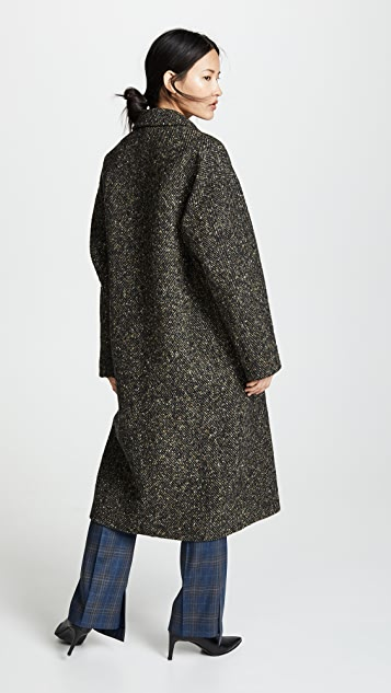 GOEN.J Oversized Wool Coat