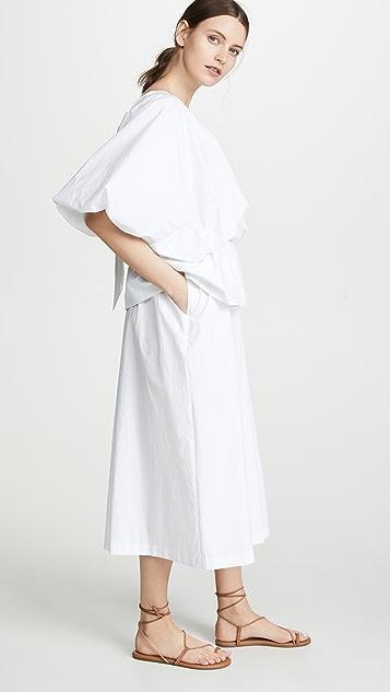 GOEN.J Voluminous Poplin Dress