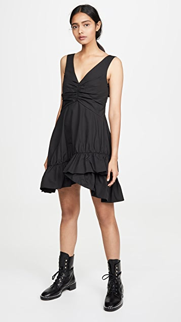 GOEN.J V Neck Dress