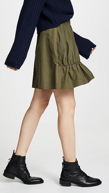 GOEN.J Ruffle Miniskirt