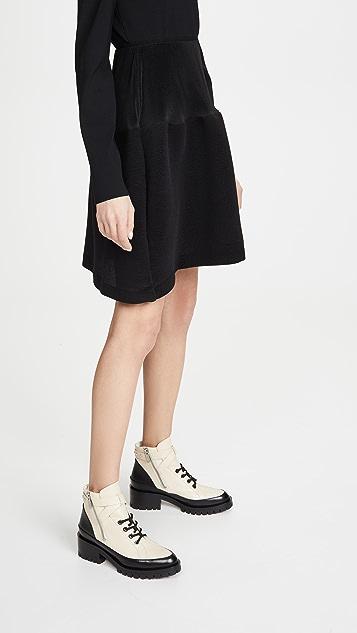 GOEN.J Voluminous Flared Pleated Skirt