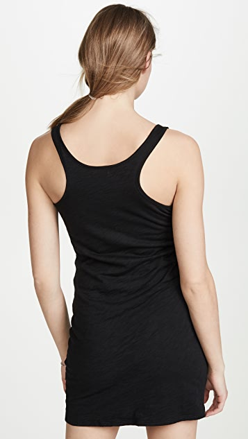 Goldie Ruched Tee Dress