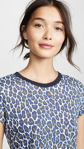 Goldie Классическая футболка с гепардовым принтом