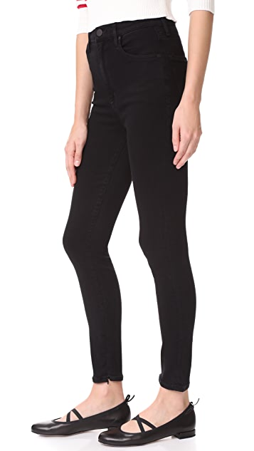 GOLDSIGN The Non Profit Rise Ultra HR Ankle Zipper Jeans