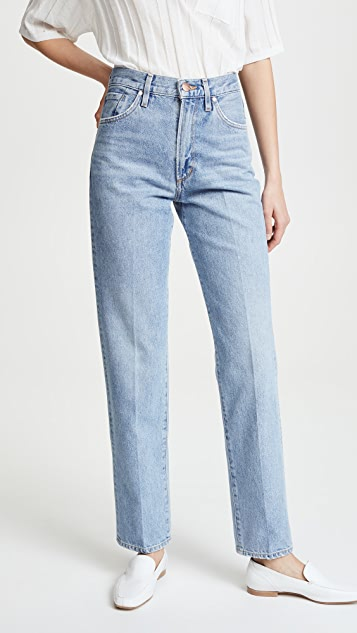 GOLDSIGN The Classic Fit Jeans - Pressed Marled Blue