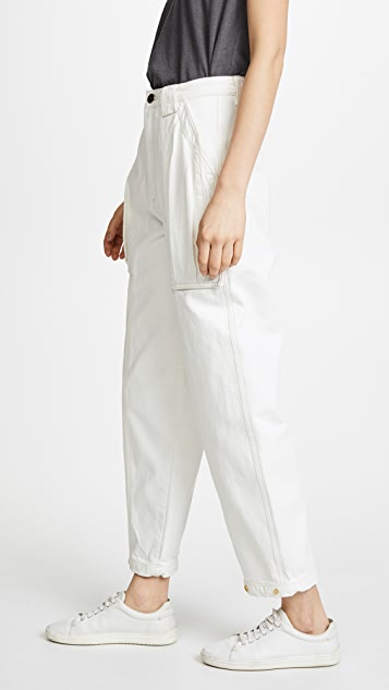 GOLDSIGN The Snap Utility Pants