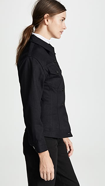 GOLDSIGN Black The Waisted Jacket
