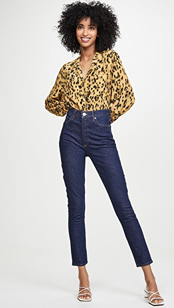 GOLDSIGN The High Rise Slim Jeans
