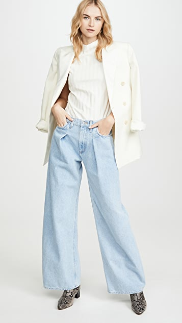 GOLDSIGN The Wide Leg Jeans