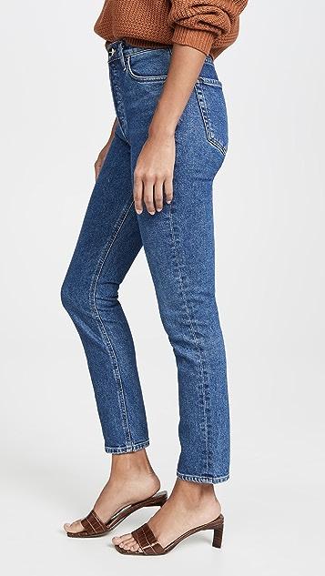 GOLDSIGN Узкие брюки с высокой посадкой