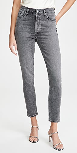 GOLDSIGN - The High Rise Slim Jeans