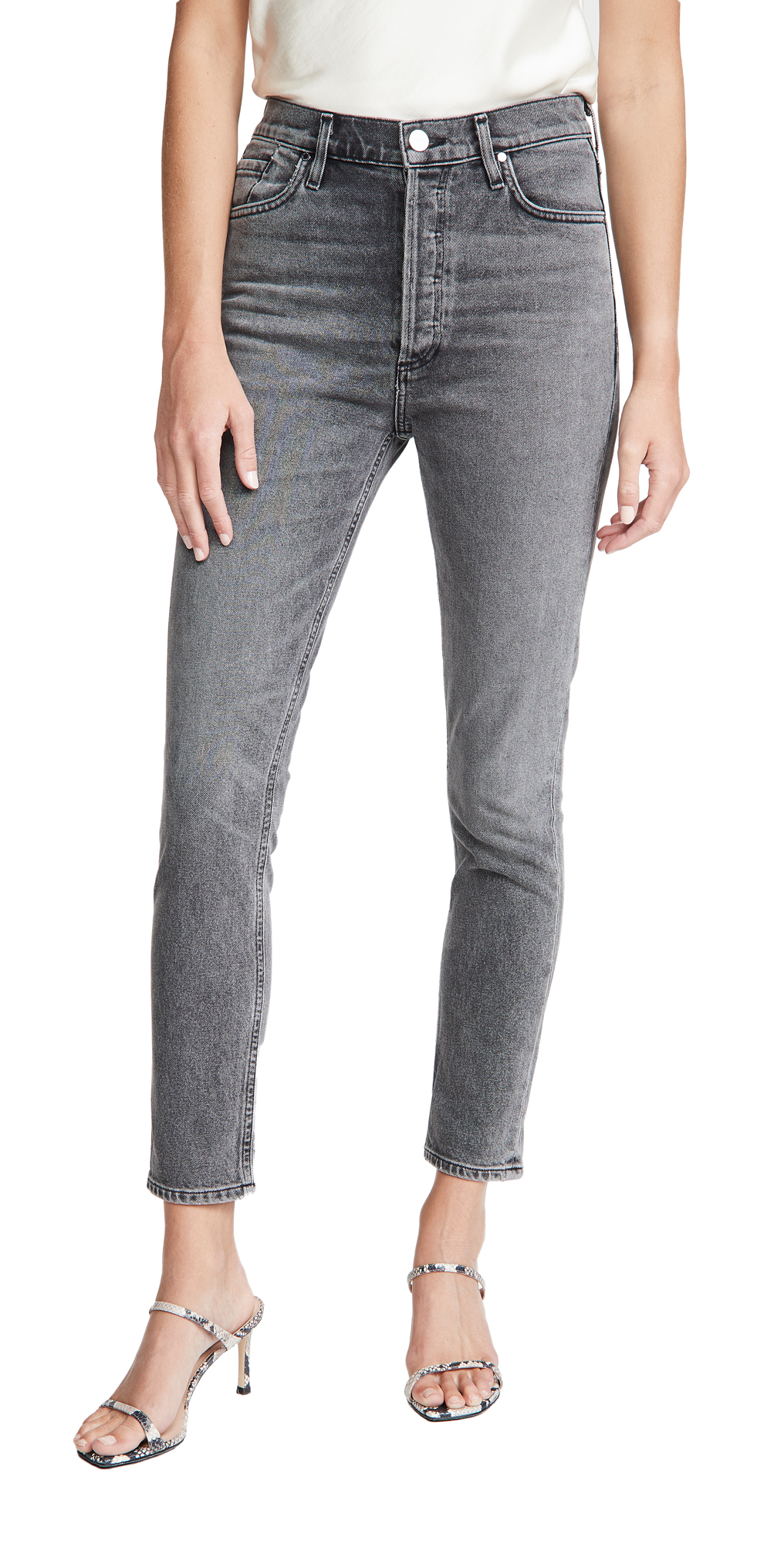 The High Rise Slim Jeans