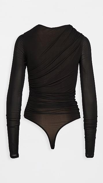 GOLDSIGN The Twist Thong Bodysuit