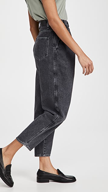 GOLDSIGN The Pleat Wrap Jeans