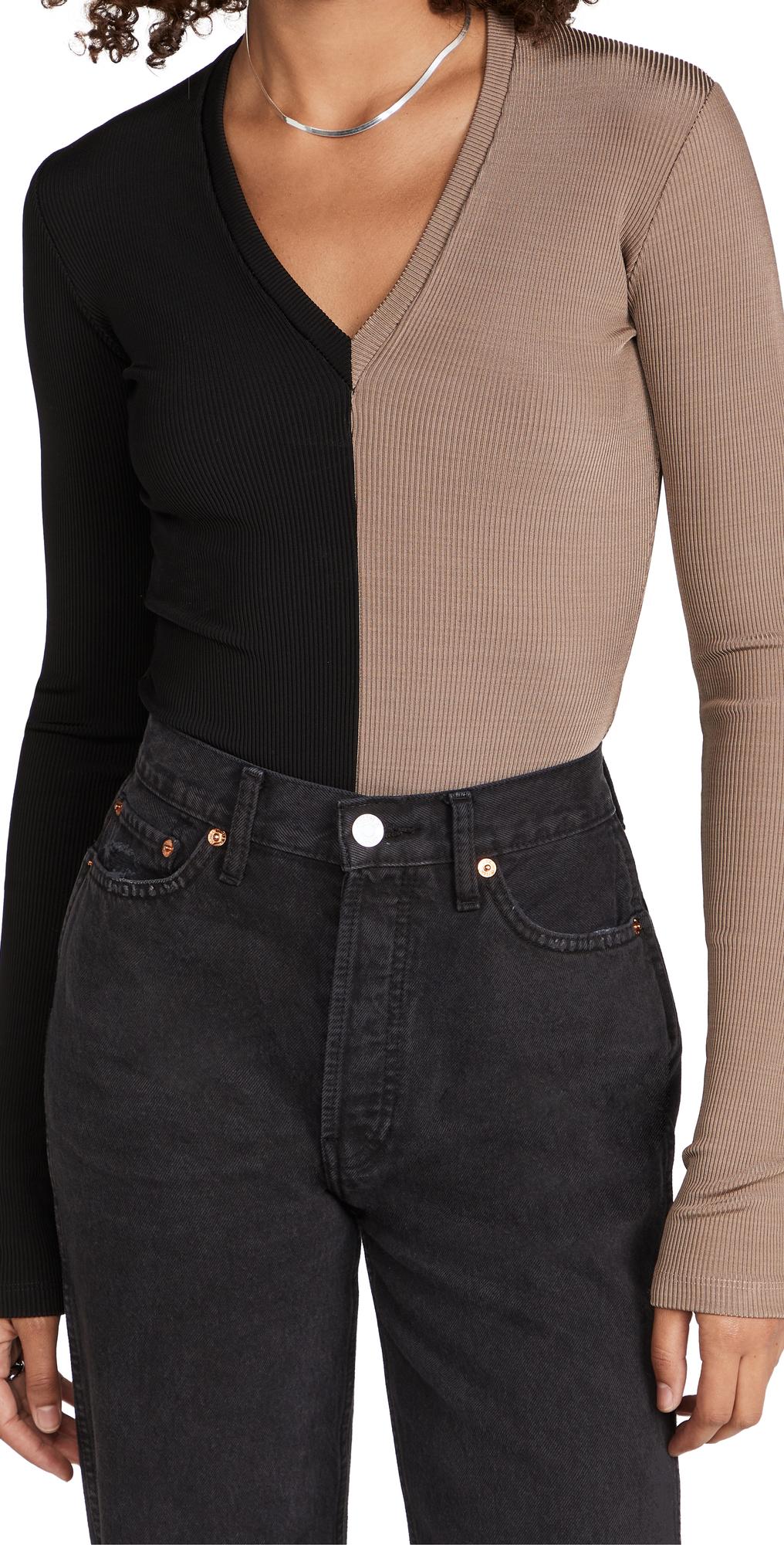 The Rib Deep V Bodysuit