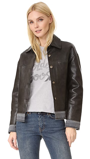 Golden Goose Bernhardt Leather Jacket