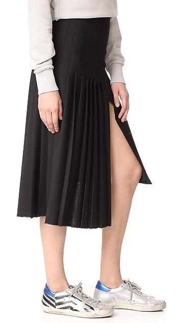 Golden Goose Plisse Skirt