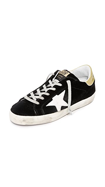 Golden Goose Superstar Velvet Sneakers