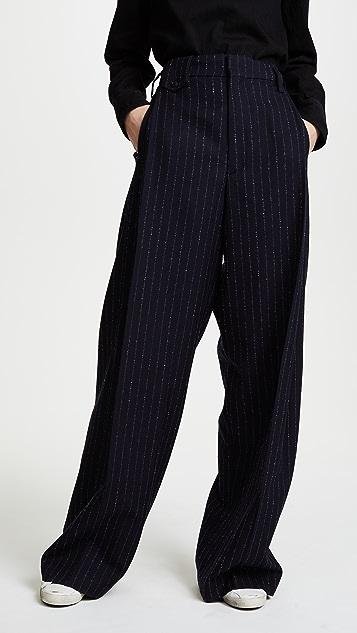 Golden Goose Berta Pinstripe Pants