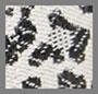 黑色豹纹/奶白色