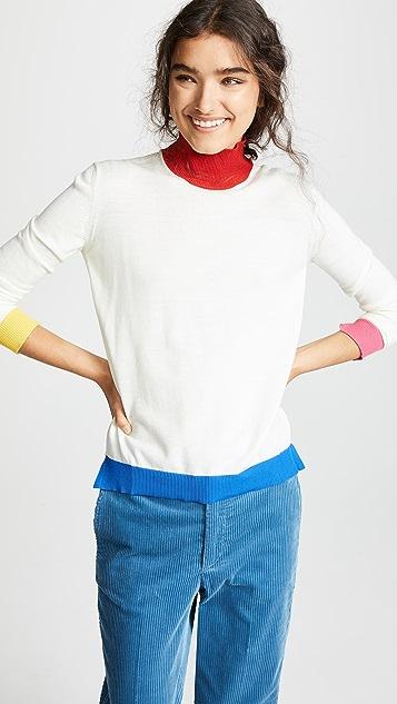 Golden Goose Elva 高领羊毛针织衫