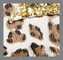 Leopard/Gold Glitter