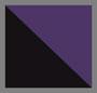 黑色/紫色斑马