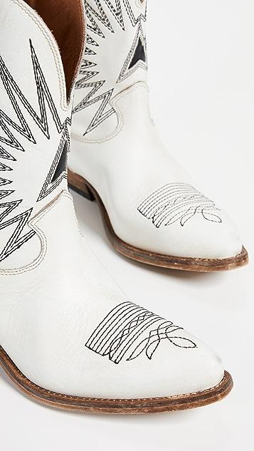 Golden Goose Низкие ботинки Wish Star