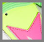Yellow Fluo/Pink/Green Fluo