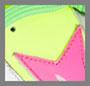 荧光黄/粉色/荧光绿