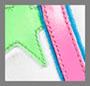 белый/флуоресцентный розовый/флуоресцентный зеленый