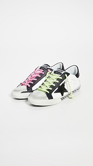 Golden Goose Кроссовки Superstar Scribble