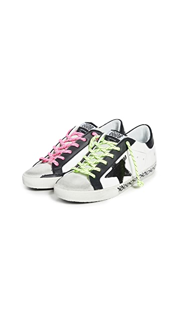 Golden Goose Superstar Scribble Sneakers