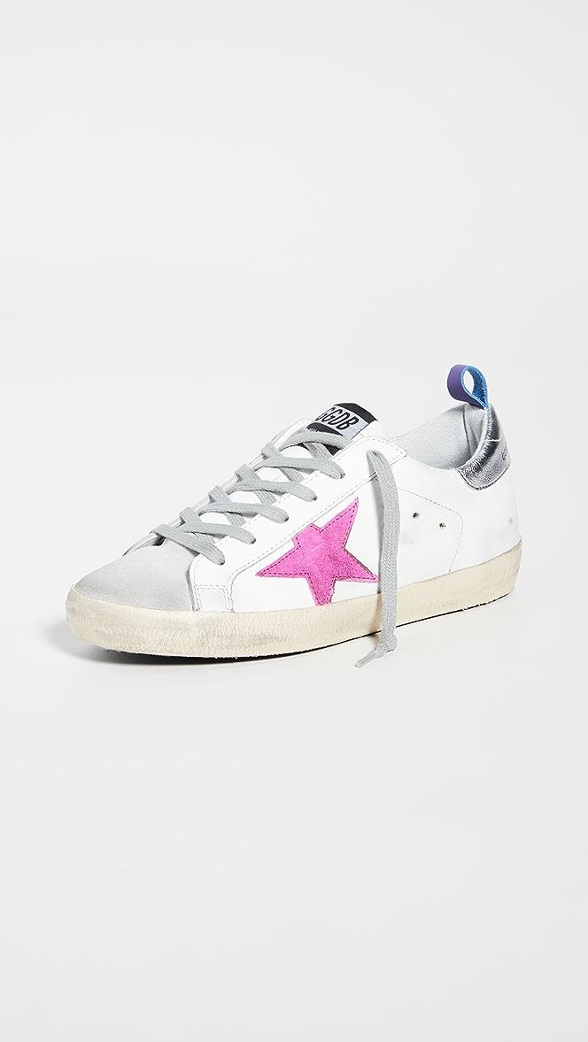 Golden Goose Superstar Sneakers with