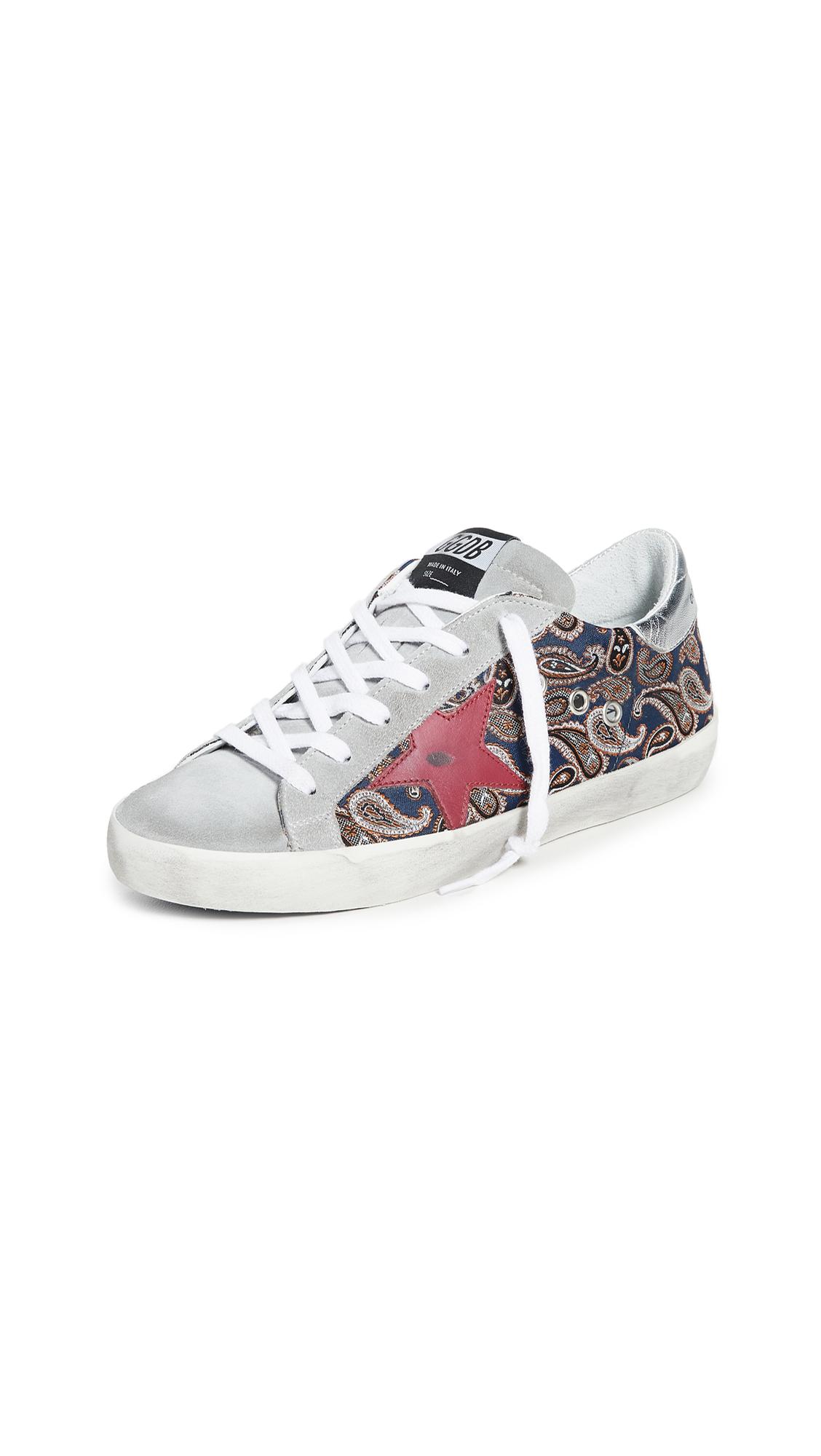 Golden Goose Superstar Paisley Sneakers