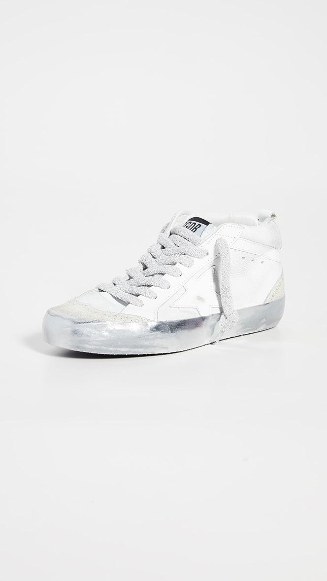 Golden Goose Mid Star Sneakers | SHOPBOP