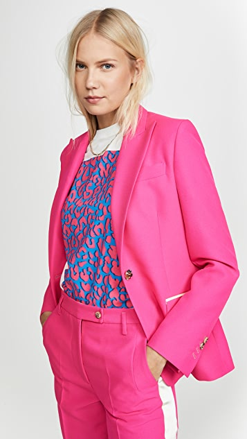 Golden Goose Blazers Blazer With Embellished Button