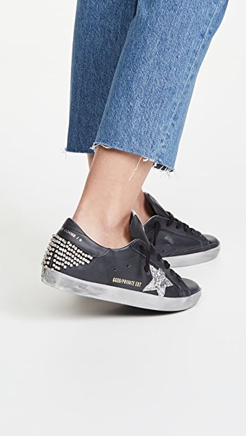 Golden Goose Superstar 链条运动鞋