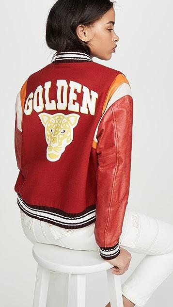 Golden Goose Бомбер Scarlett