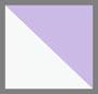 白色/薰衣草紫色