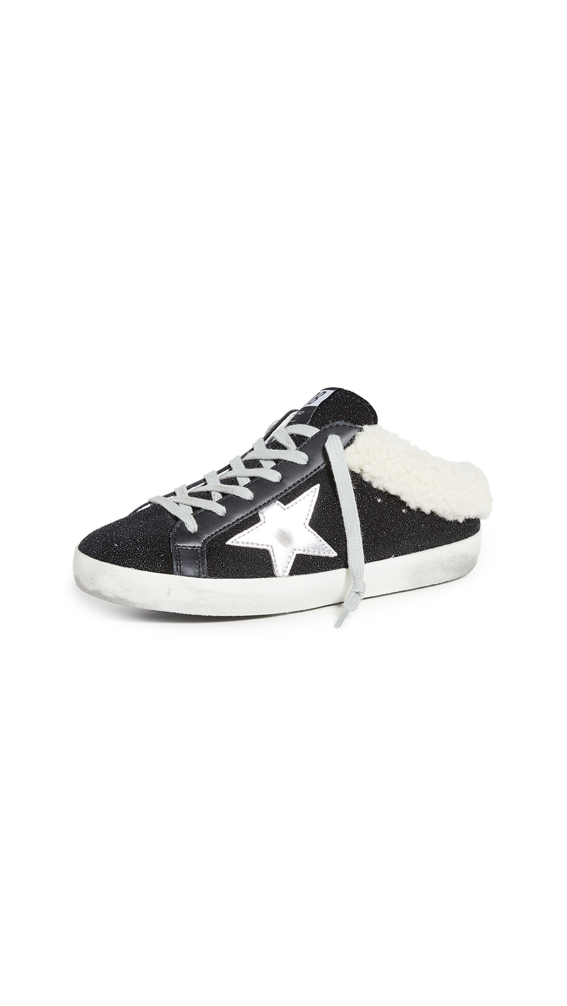 Golden Goose Sabot Shearling Sneakers
